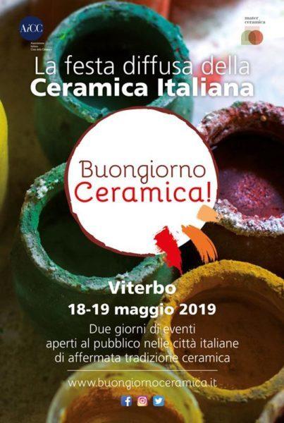 Ceramica Tiffany Civita Castellana.Viterbo Partecipa Alla Festa Della Ceramica Italiana Il 18 E